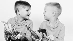 Stoere jongens en hun zusje - 2014